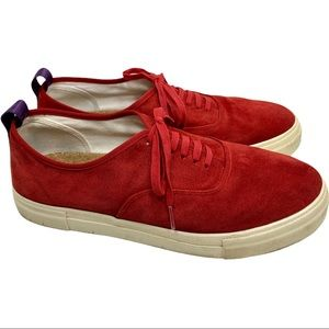 Eytys Mother Suede In Rosso Sneakers 12 EUC